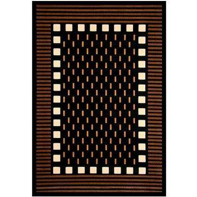 Terra Mali Chocolate 5 ft. 3 in. x 7 ft. 6 in. Area Rug