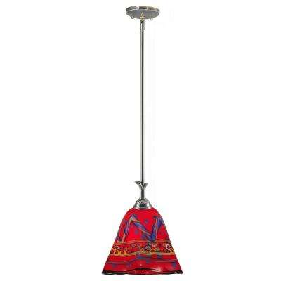 red dale tiffany pendant lights lighting the home depot