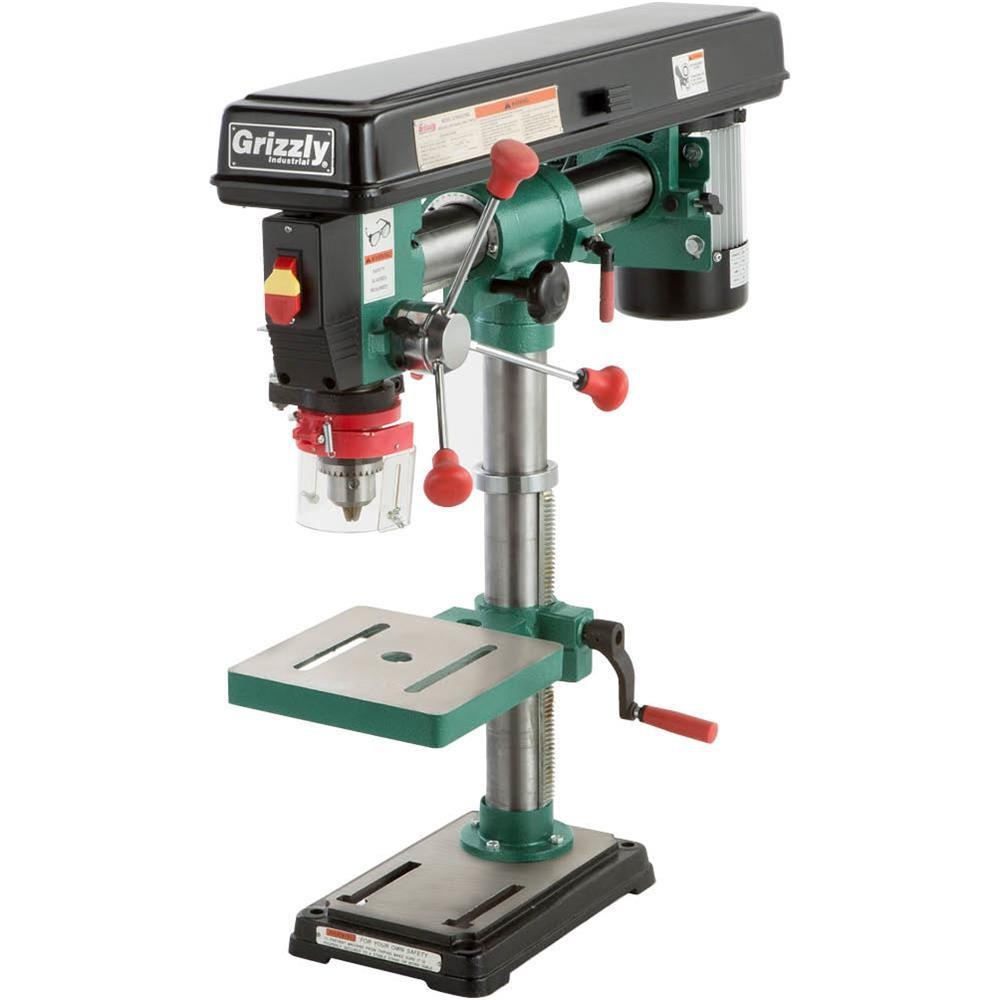 Grizzly Industrial 5 Speed Bench Top Radial Drill Press