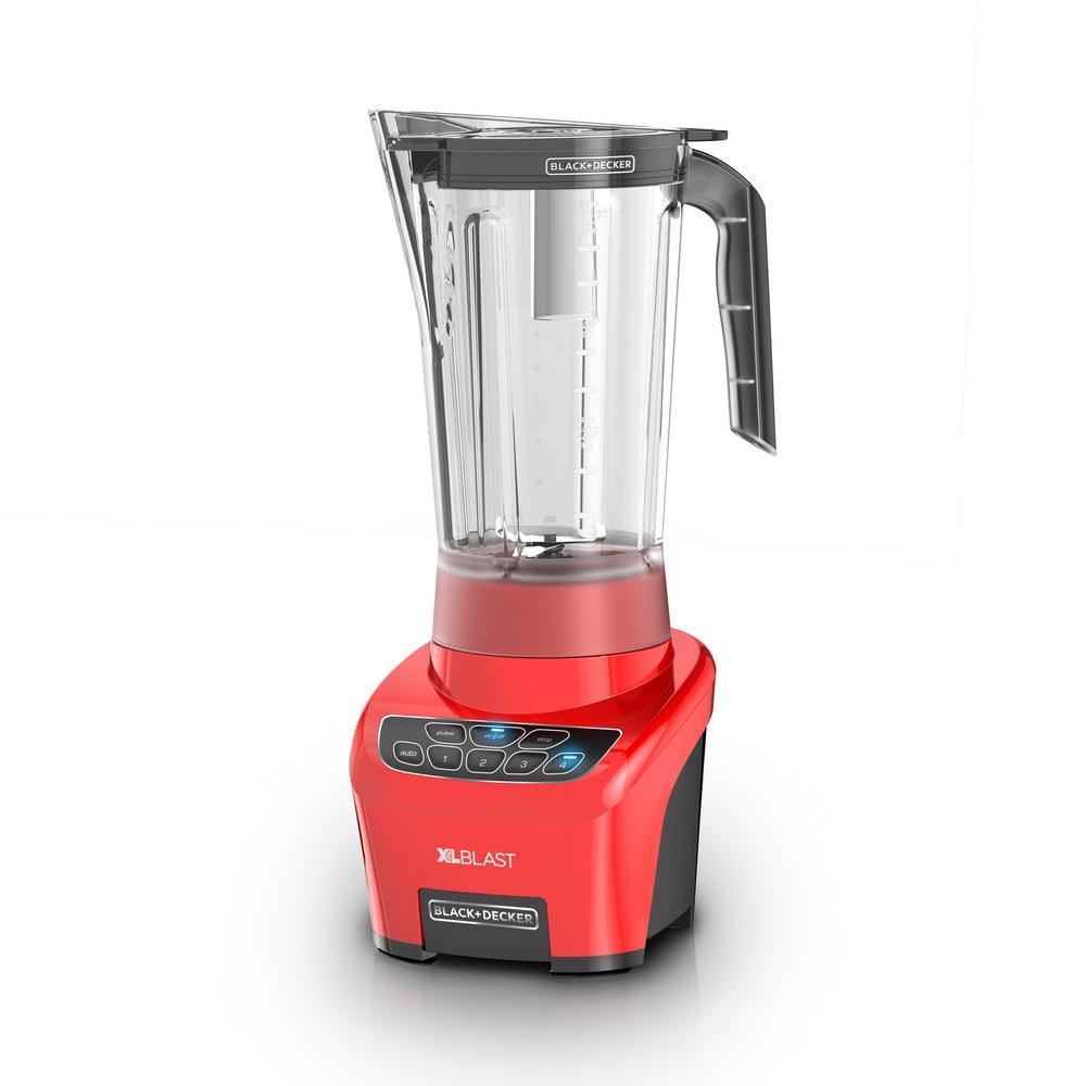 Red XL Blast Drink Machine Blender