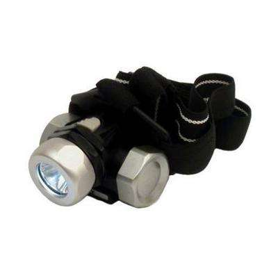 45 Lumen 3AAA LED Metal Gear Headlight with Battery
