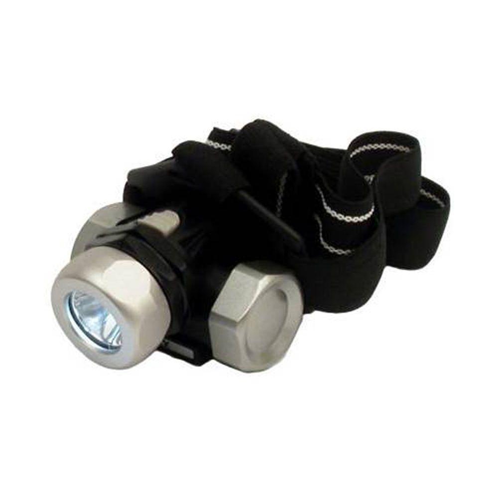 45 Lumen 3AAA LED Metal Gear Headlight with Battery