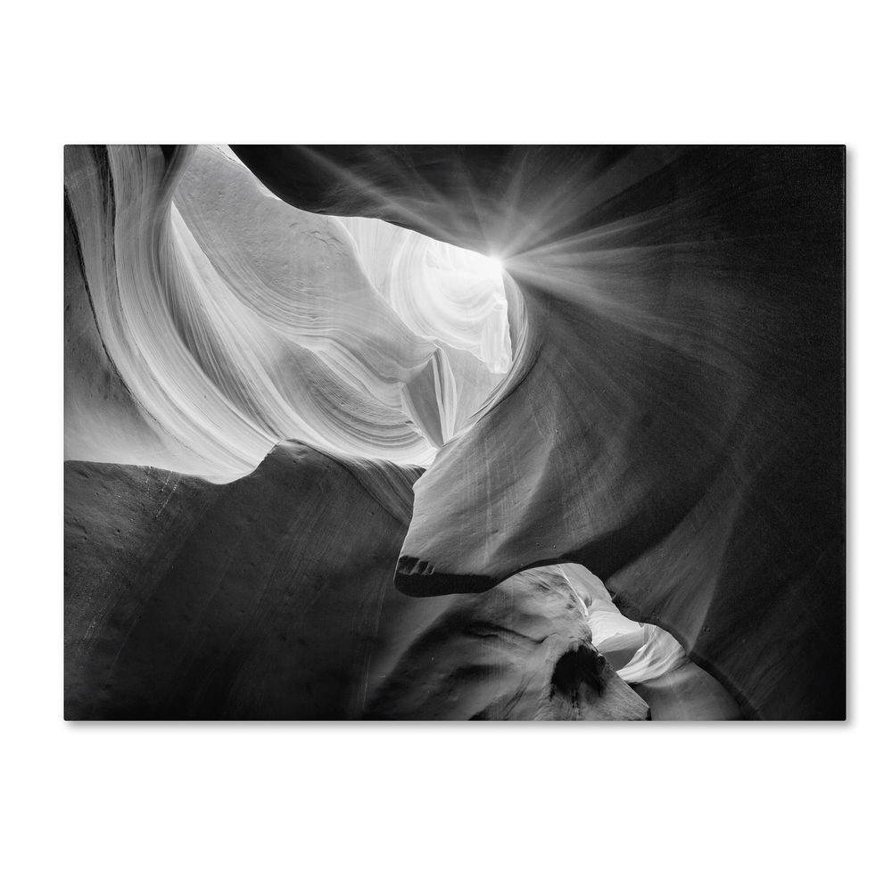 Trademark Fine Art 16 in. x 24 in. Searching Light IV Canvas Art