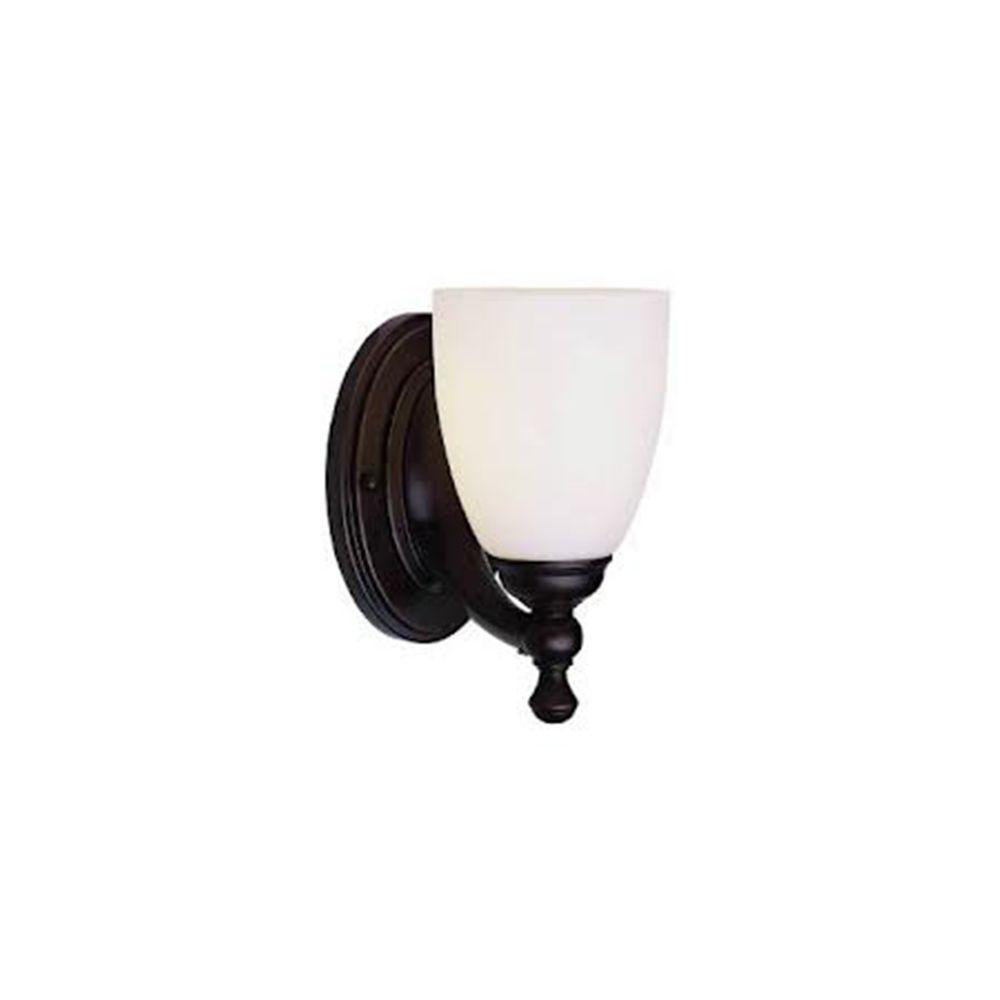 Bel Air Lighting Stewart 1-Light Polished Chrome Incandescent Sconce