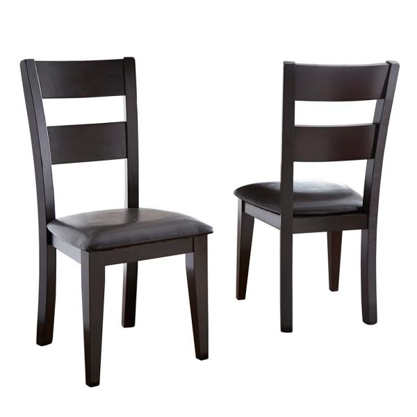 Victoria Brown Side Chair (Set of 2)