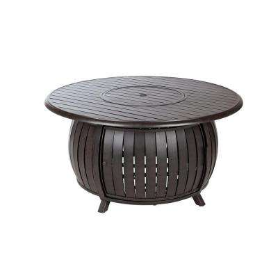 47 in. x 22 in. Grand Cooper Extruded Aluminum Round LPG Fire Pit