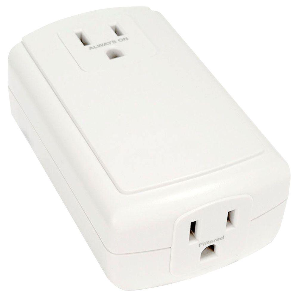 Smarthome FilterLinc 10 Amp Plug-In Noise Filter