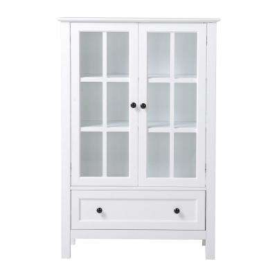 White Storage Pantry