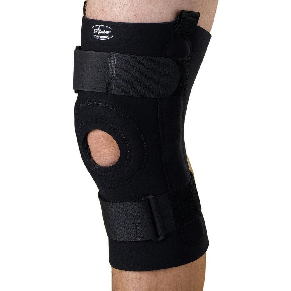 2X-Large U-Shaped Hinged Knee Support