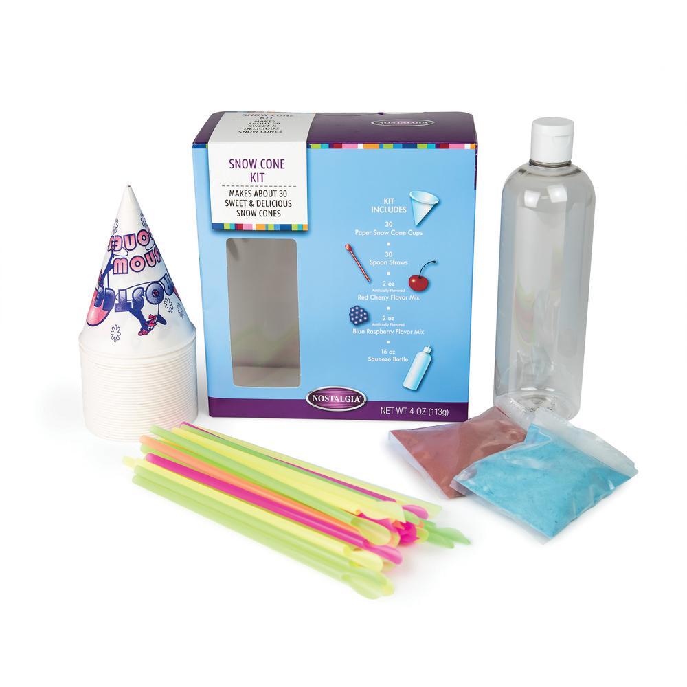 Nostalgia Snow Cone Maker Kit
