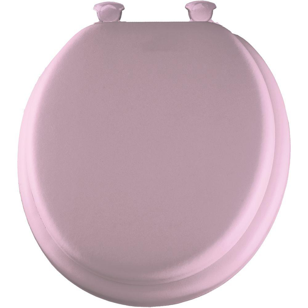 Mayfair Soft Round Closed Front Toilet Seat In Pink 13ec
