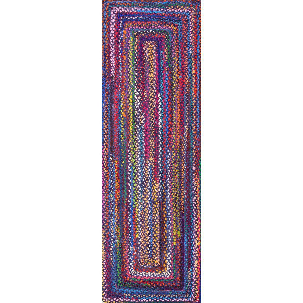 Tammara Blue 3 ft. x 8 ft. Runner Rug