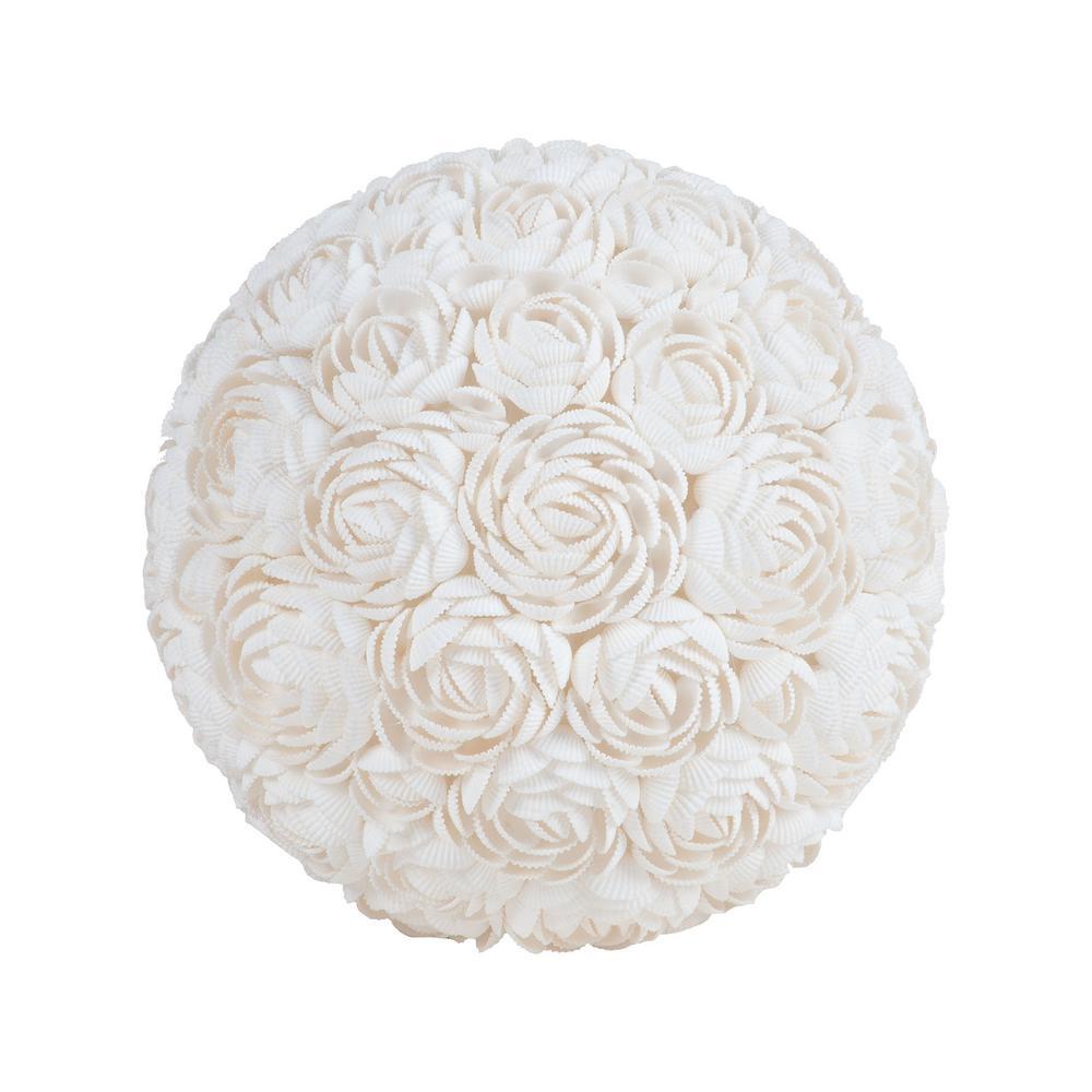Blossom Ball Natural Shell Sculpture