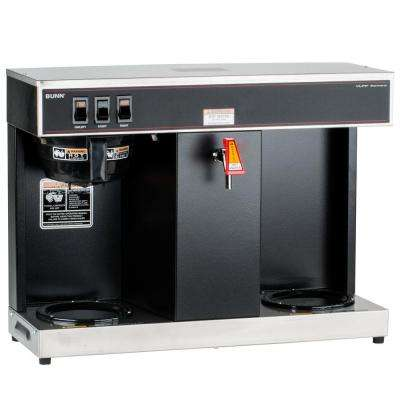 12-Cup Automatic Commercial Coffee Brewer with 2 Warmers