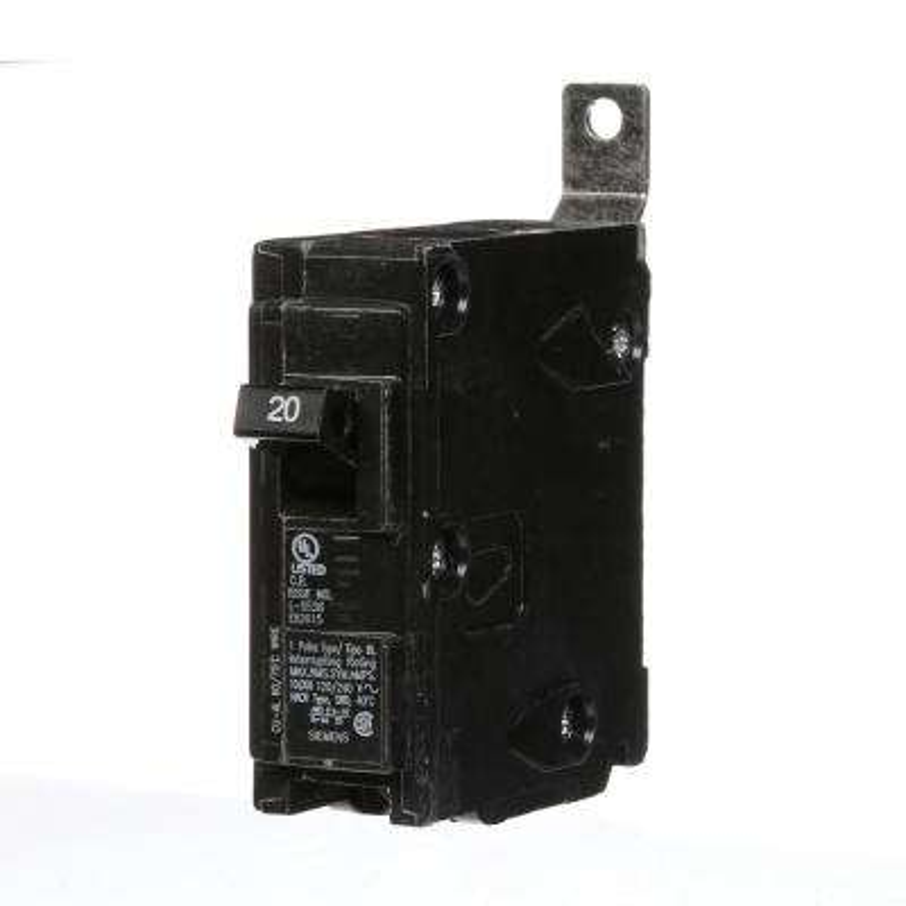20 Amp Single-Pole Type BL Bolt-On Circuit Breaker