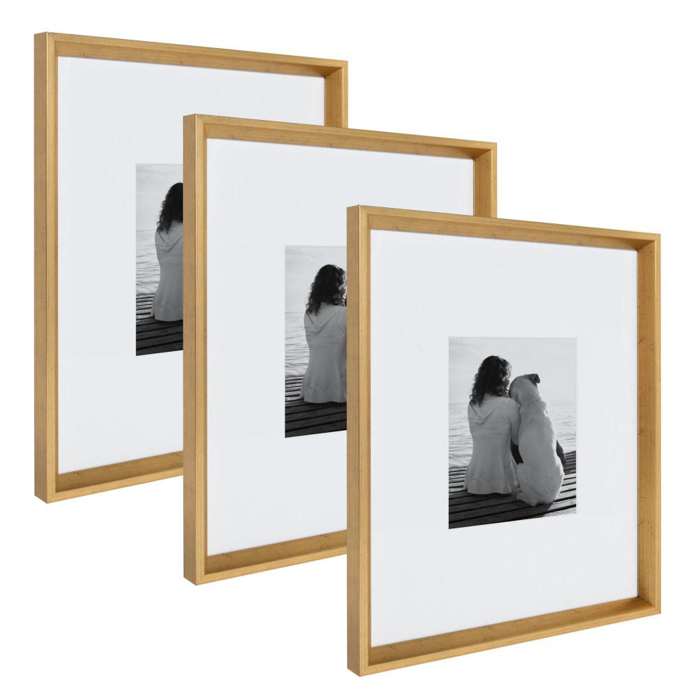 Kate and Laurel Calter 16 in. x 20 in. Matted to 8 in. x 10 in. Gold ...