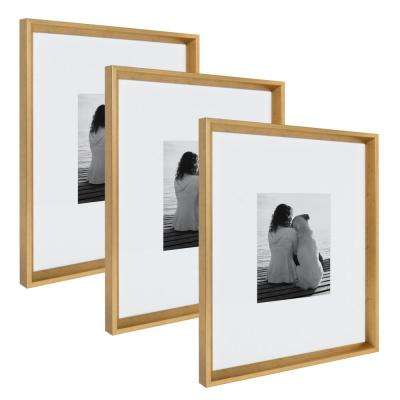 Calter 16x20 matted to 8x10 Gold Picture Frame (Set of 3)