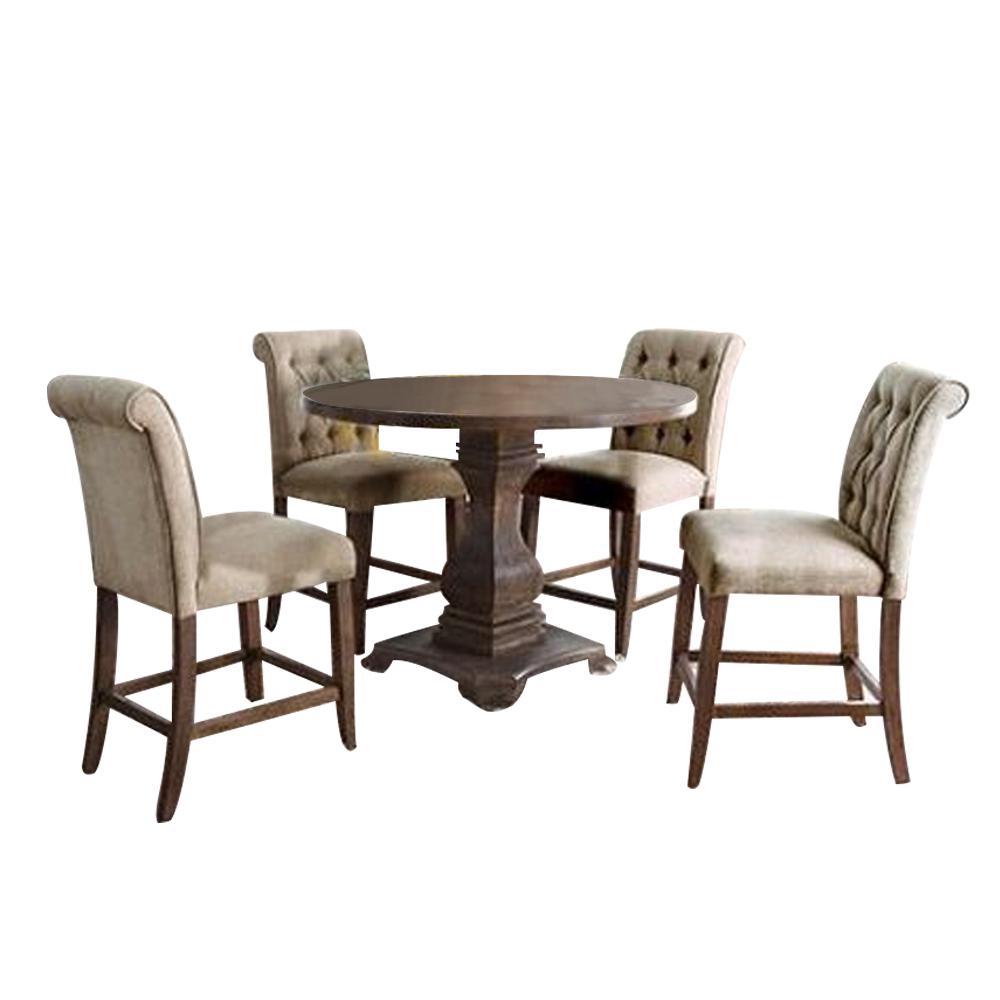Black Williams Home Furnishing Nessa Table