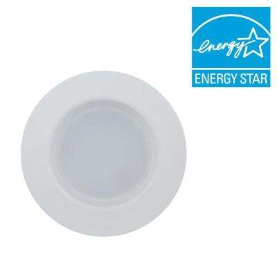 65W Equivalent Soft White 5/6 in. Retrofit Trim Recessed Downlight Dimmable LED Floodlight Bulb