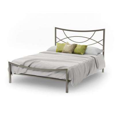 Wrought Iron - Bed Frame Mounted - Gray - Beds & Headboards ...