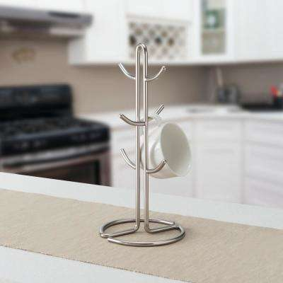 Satin Nickel Mug Tree