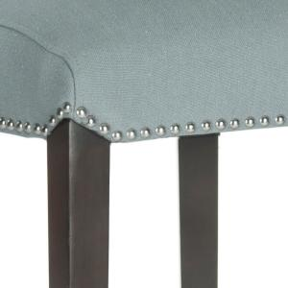 Peachy Safavieh Seth 25 9 In Sky Blue Cushioned Bar Stool Mcr4509H Lamtechconsult Wood Chair Design Ideas Lamtechconsultcom