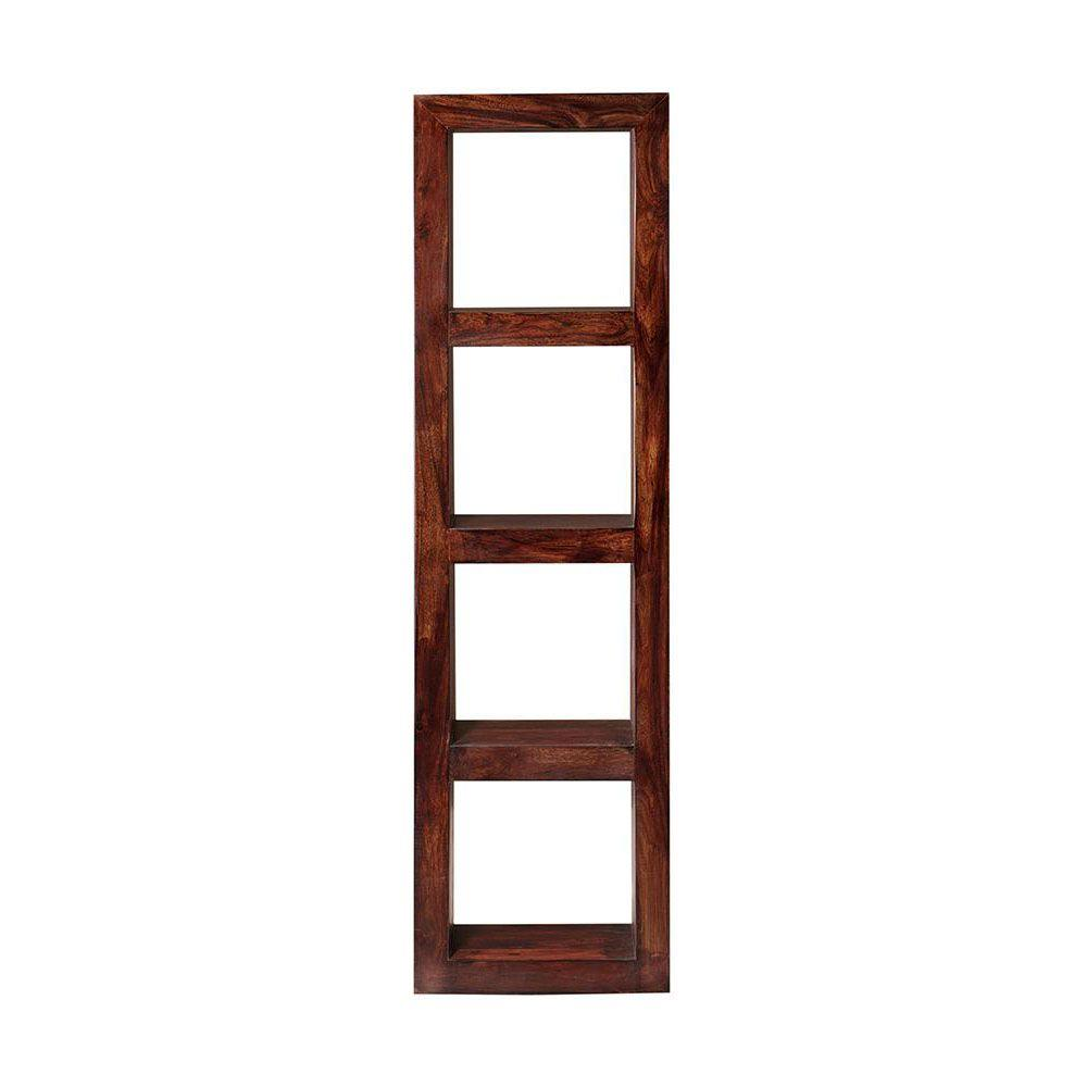 Maldives Walnut Narrow Bookcase