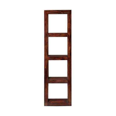 Maldives Walnut Open Bookcase