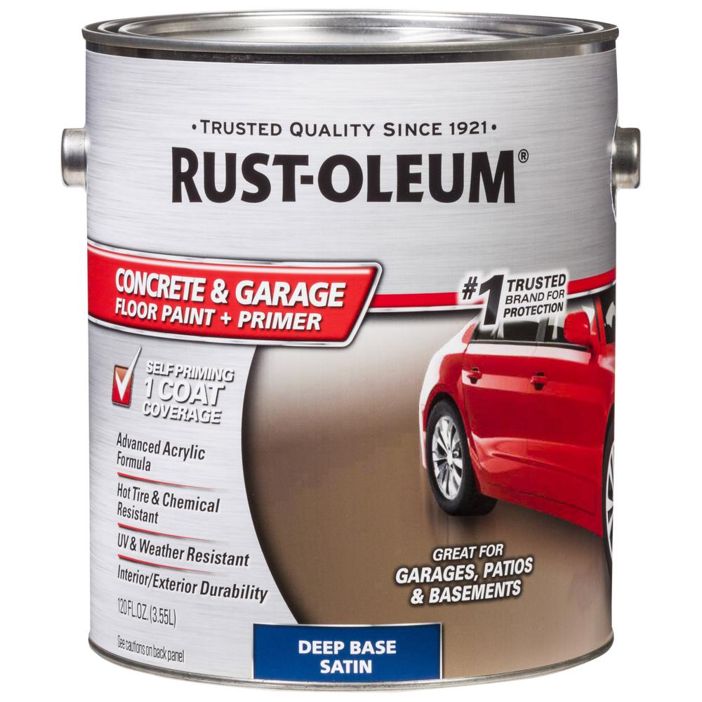 Rust-Oleum 1 Gal. Deep Base Concrete and Floor Finish