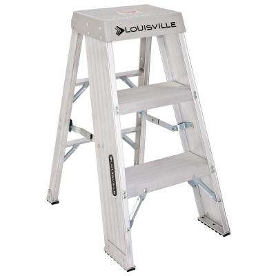 3 ft. Aluminum Step Stand with 300 lb. Load Capacity Type IA Duty Rating