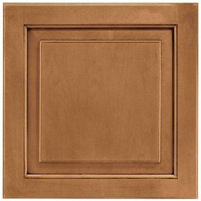 14-9/16x14-1/2 in. Cabinet Door Sample in Charlottesville Maple Mocha Glaze