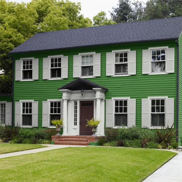 Reviews For Behr Ultra 1 Gal P380 7 Luck Of The Irish Semi Gloss Enamel Exterior Paint And Primer In One 585301 The Home Depot
