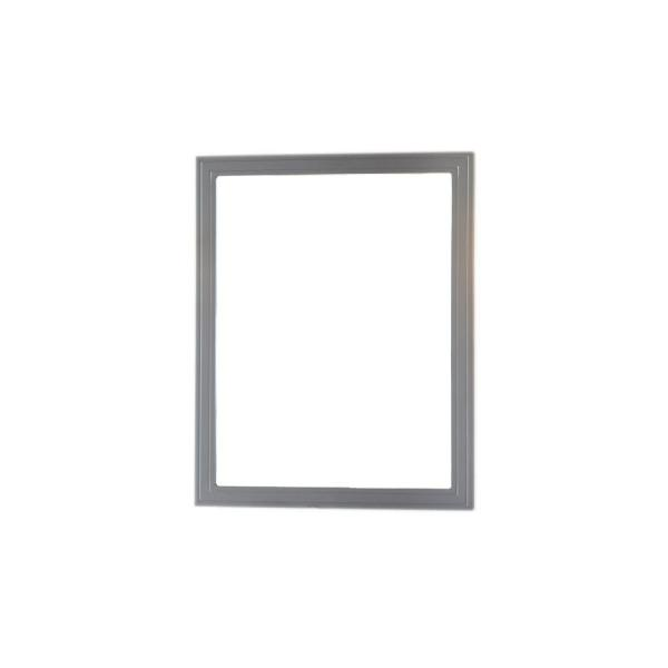 Home Decorators Collection Cranbury 30 In L X 24 In W Framed Single Wall Mirror In Cool Gray Dt7024 12 The Home Depot