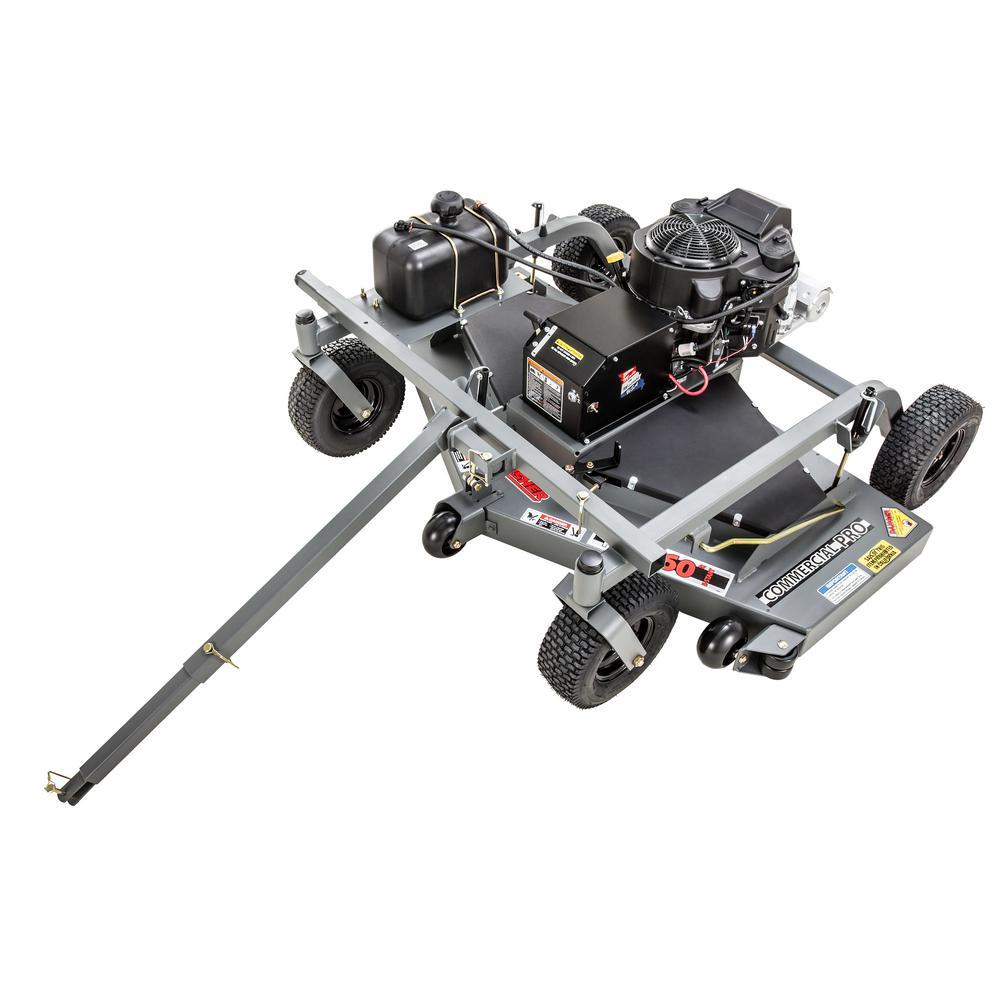 Commercial Pro 60 in. 14.5-HP Kawasaki Electric Start Finish-Cut Trail Mower -  Swisher, FC14560CPKA-CA