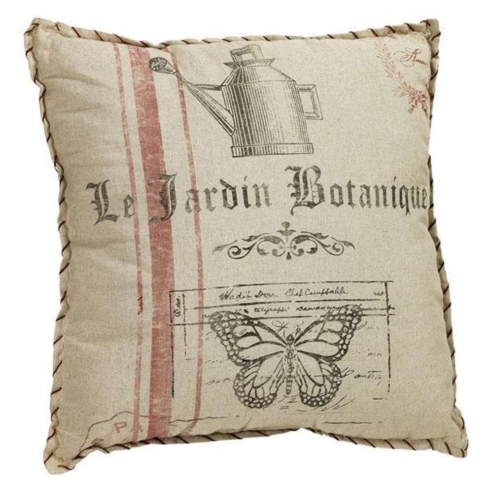 Home Decorators Collection French Flea Market Boutique Jardin Pillow