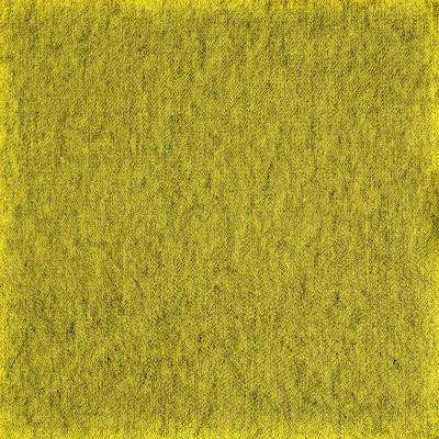 Fedora Chartreuse Texture 19.7 in. x 19.7 in. Carpet Tile (6 Tiles/Case)