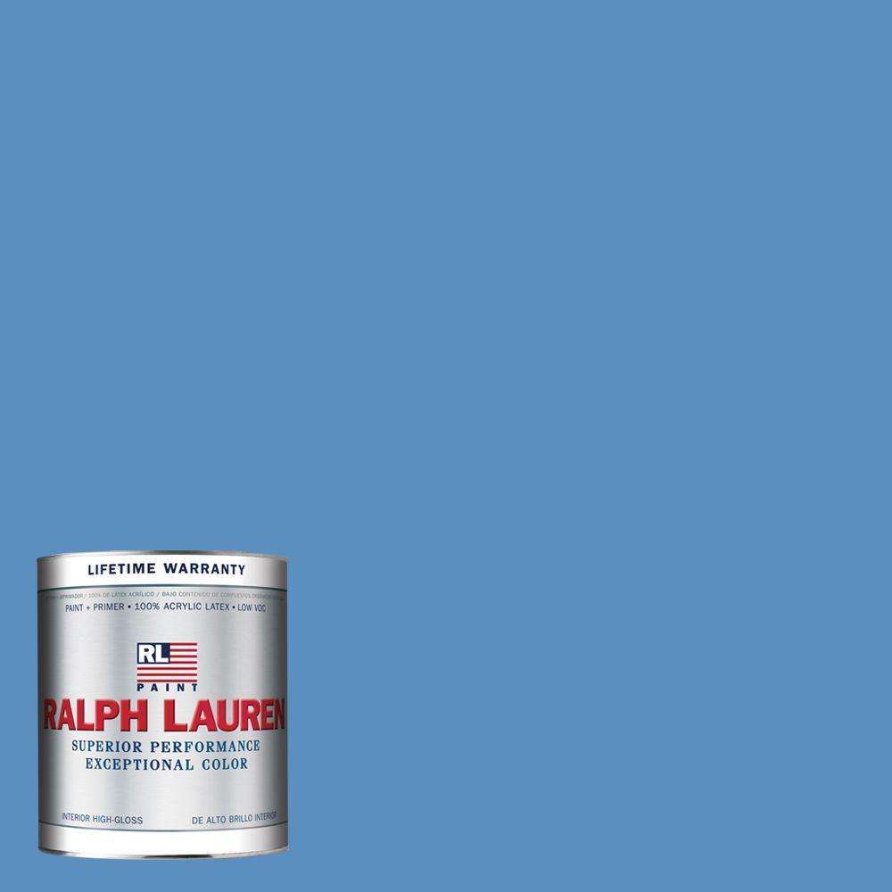 Ralph Lauren 1-qt. Blue Gatsby Hi-Gloss Interior Paint