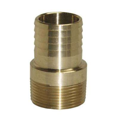 1 in. Brass Male Insert Adapter