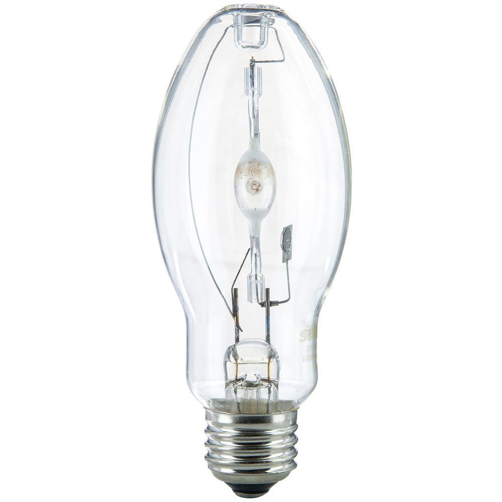 HC Lighting // Metal Halide T46 Size HIgh Pressure Sodium MH E26 Medium Base LED Retro Fit Bulb 120-277V 30W Clear Glass Retro Fit Bulb 2700K HPS