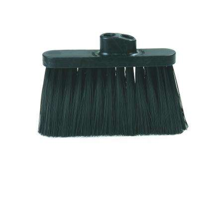 4 in. Replacement Head for Duo-Sweep Broom in Black (Case of 12)