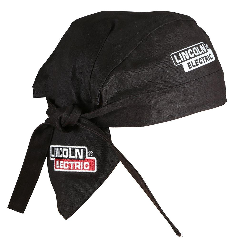 6623ca1b977 Lincoln Electric 6 in. Fire Resistant Black Welding Doo Rag-KH822 ...