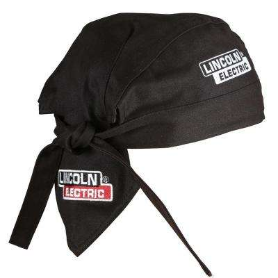 6 in. Fire Resistant Black Welding Doo Rag