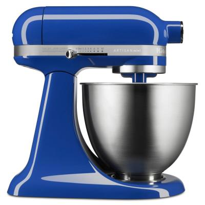 Artisan Mini 3.5 Qt. 10-Speed Twilight Blue Stand Mixer with Tilt-Head