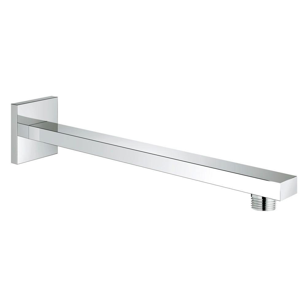Eurocube 11-1/4 in. Shower Arm in StarLight Chrome