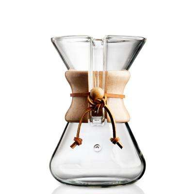 Hand Blown 5-Cup Coffee Maker