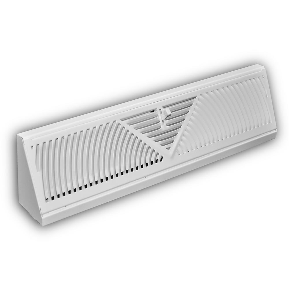 Everbilt 18 in  Baseboard Diffuser Supply