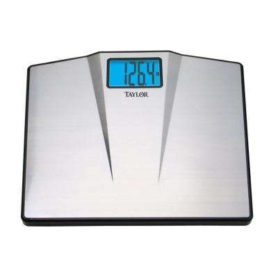 Digital High Capacity Bath Scale in Silver