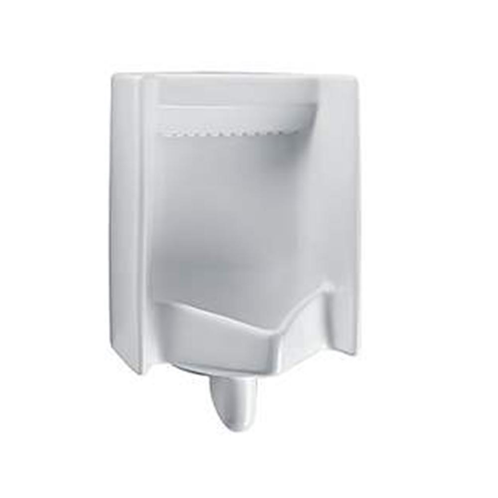 Commercial ADA Complaint Rectangle 0.5 GPF Washout Urinal with Top Spud
