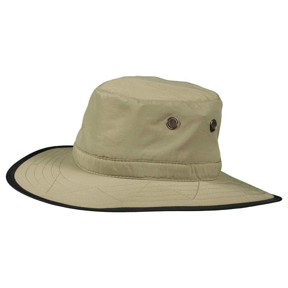 DPC Supplex Dim Brim Hat-MC288-FOSSIL2 - The Home Depot 3dd3de2de44
