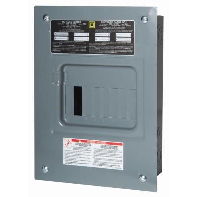 Square D Homeline 100 Amp 6-Space 12-Circuit Outdoor Main ... on